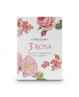 3 Rosa Sacchetto per cassetto