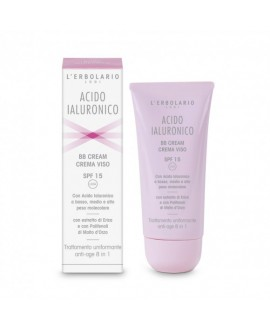 Acido ialuronico BB cream crema viso – spf15