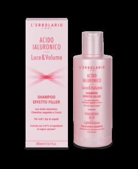 Acido ialuronico Shampoo Effetto Filler Luce&Volume