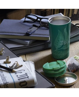 Mug Thermos Tea Lovers Verde
