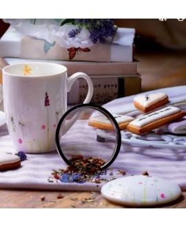 Infusiera Soffio di fiori in ceramica