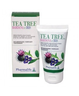 Crema pomata Tea tree & Iris