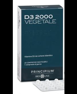 Principium Vitamina D3 2000 Vegetale