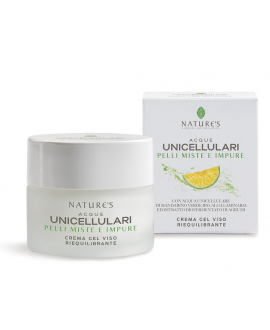 Acque Unicellulari: Crema gel viso riequilibrante