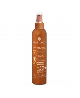 Isolari: Spray Solare Fluido Bambini Viso-Corpo SPF50