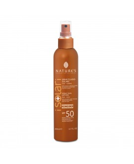 Isolari: Spray Solare Fluido Viso-Corpo SPF50