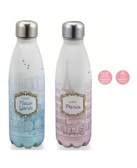 Bottiglia Thermos Le città del Tè